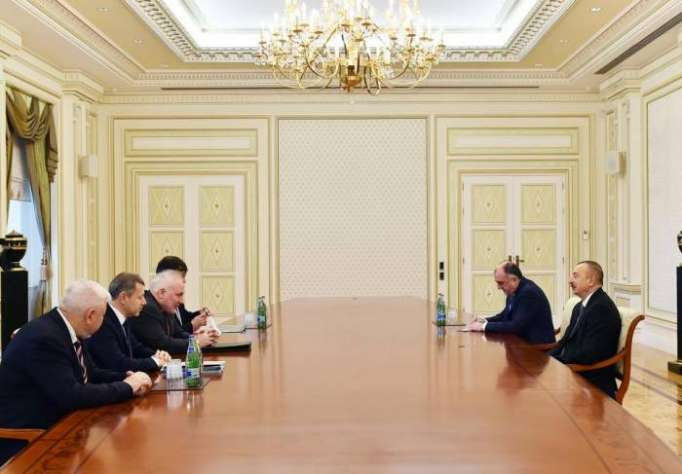 President Aliyev receives OSCE Minsk Group co-chairs