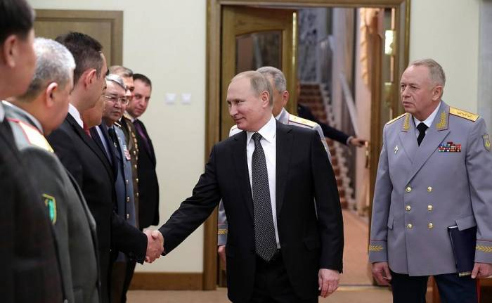Deputy Defense Minister of Azerbaijan meets with Vladimir Putin