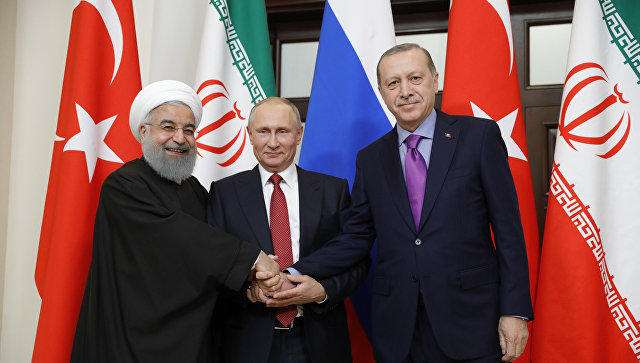 Turkish, Iranian, Russian presidents to meet in Istanbul