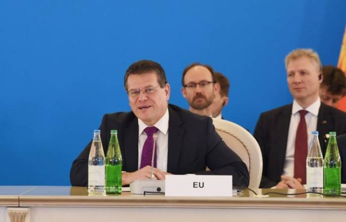 Southern Gas Corridor project is of strategic importance - Sefcovic