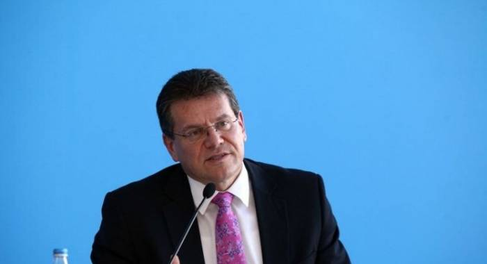 Sefcovic: We've been very helpful in making sure Southern Gas Corridor is smoothly developed