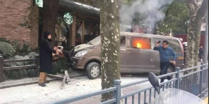 Vehicle plows into pedestrians in Shanghai, injuring 18