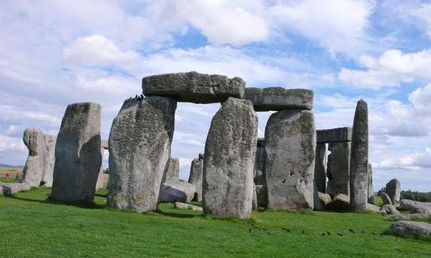 Stonehenge likely built with stones and a sesign taken from an ancient Welsh monument