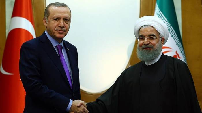Erdogan, Rouhani hail increased cooperation on security