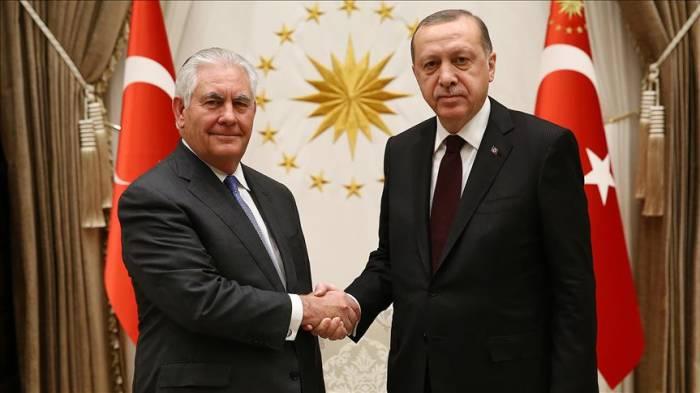 Turkish president, US secretary of state meet in Ankara