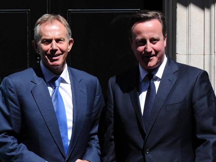 Tony Blair warned David Cameron of