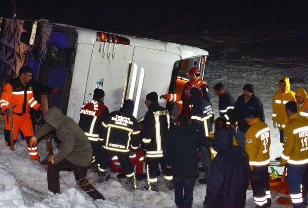 Road accident leaves two killed in Turkey