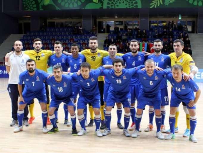 Azerbaijan to face France in UEFA Futsal EURO 2018