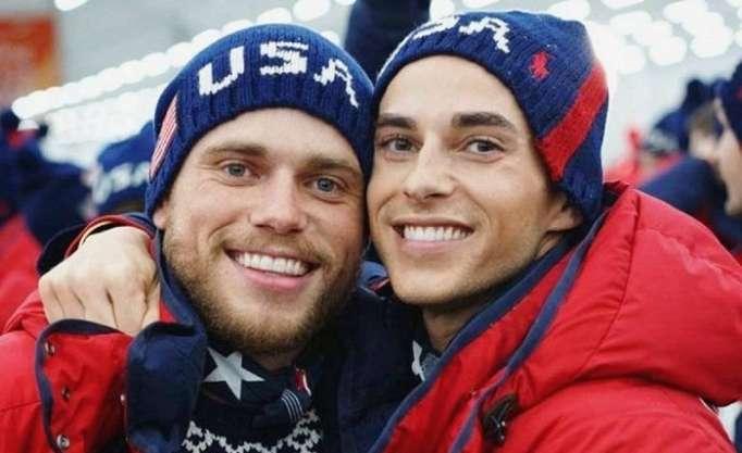 Adam Rippon, Gus Kenworthy y otros deportista gais de los Juegos de Invierno