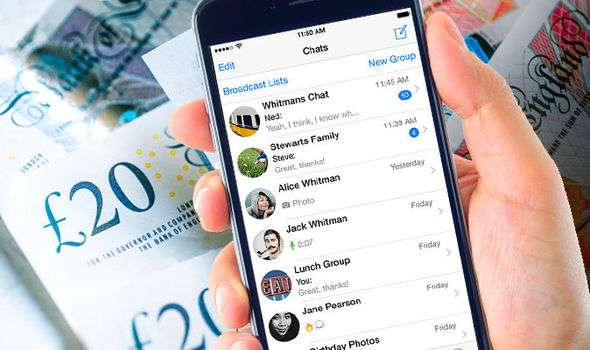 WhatsApp update lets you send MONEY to friends inside chat app