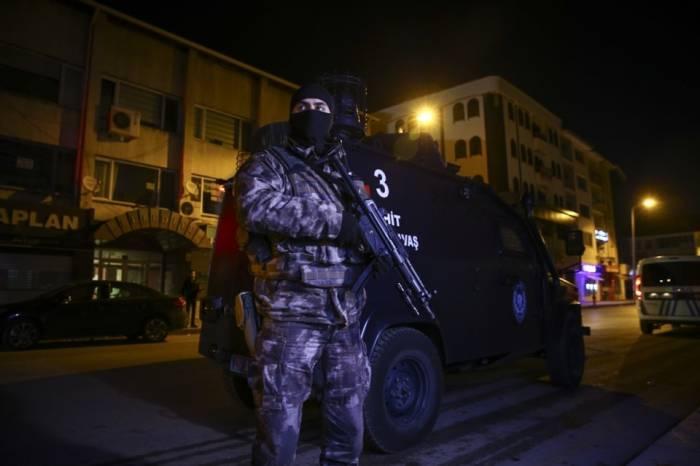 الأمن التركي يوقف 11 مشتبهاً به في عملية أمنية بأنقرة