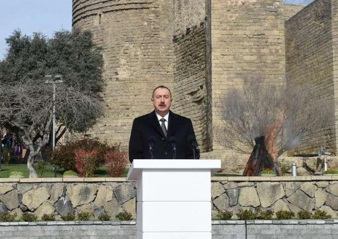"""إلهام علييف: """"هزمت أرمينيا على الجبهة الدبلوماسية"""""""