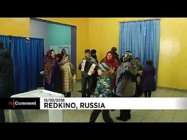 Group of rural voters bring music to the village polling station - NO COMMENT