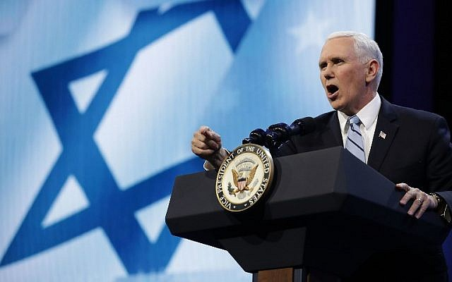 Pence at AIPAC vows Iran nuke deal to end 'immediately' if not fixed