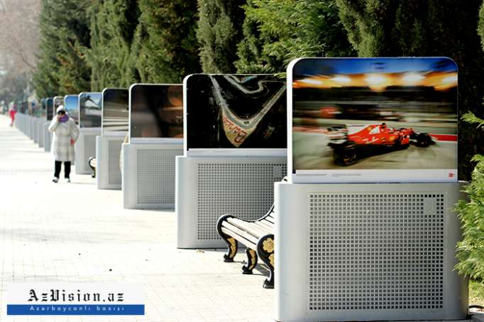 Azerbaijani capital prepares to host Formula 1 for third time - PHOTOS