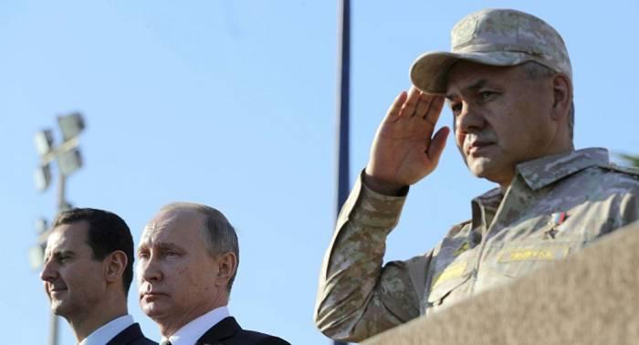 شويغو يكشف سبب زيارة بوتين إلى سوريا