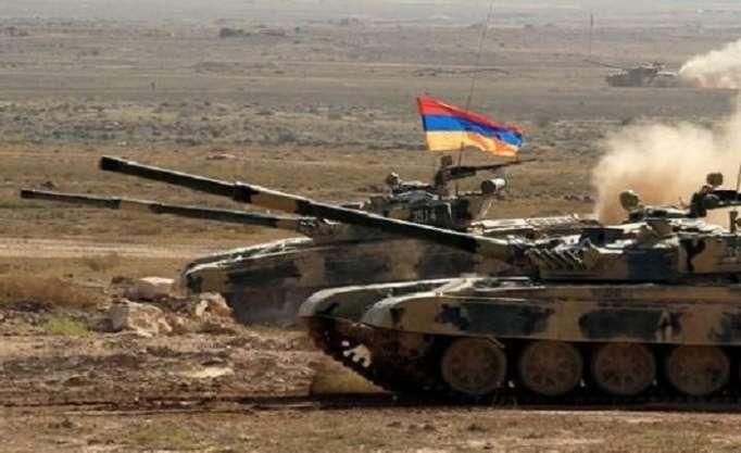 Ermənilər Qarabağda tank təlimlərinə başlayıb