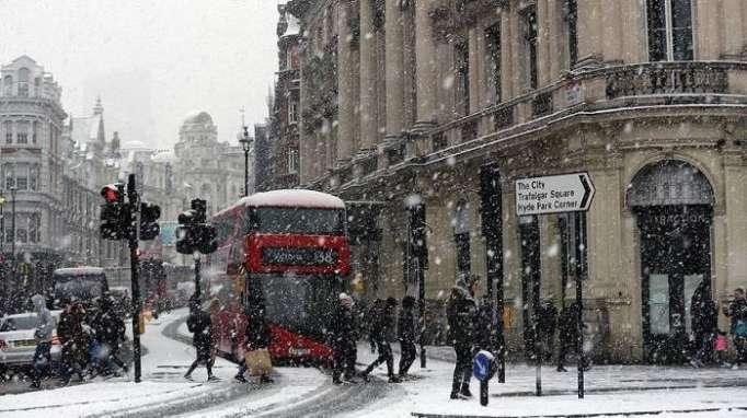 UK: Death toll rises to 10 as temperatures plummet