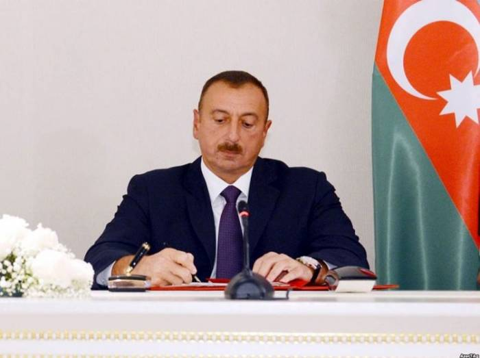 President Ilham Aliyev signs order to increase salaries of people employed in agriculture, ecology, environment protection areas