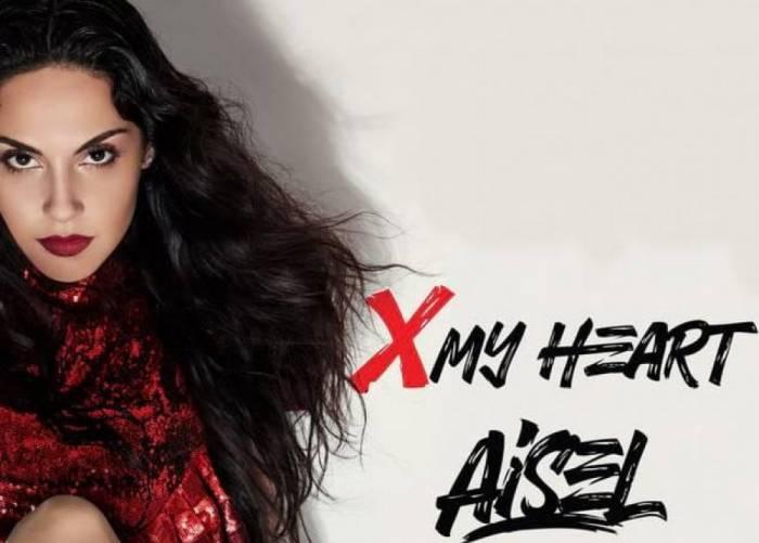Aisel crosses her heart for Azerbaijan in 2018