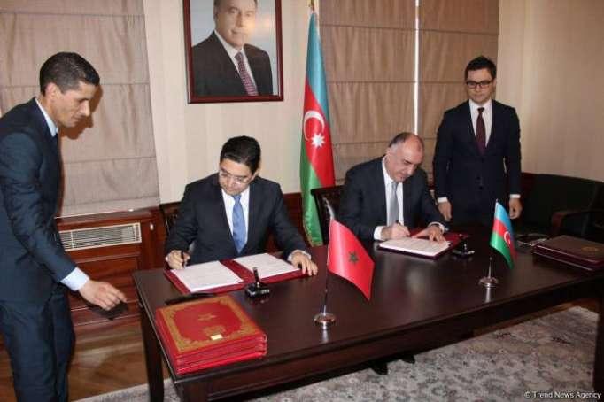 Azerbaijan, Morocco ink several documents