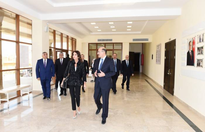 Azerbaijani First VP attends opening ceremony of Cultural Center in Shagan - PHOTOS