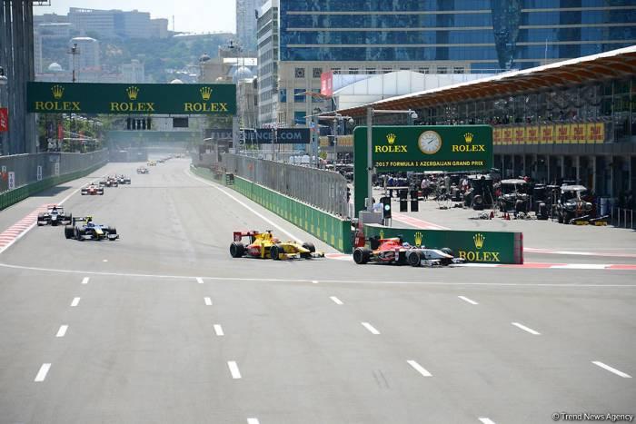 Formula 1 Azerbaijan Grand Prix - futuristic thriller for ages