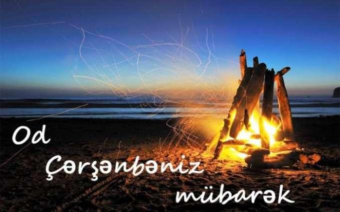 Zweiter Dienstag- Od Tscharhschanba des Frühlingsfestes Novruz