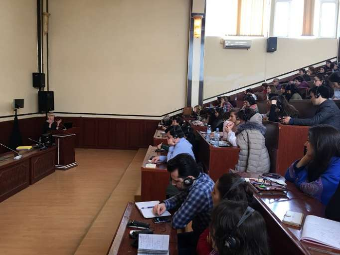 U.S. Embassy delivers public lectures on children with disabilities