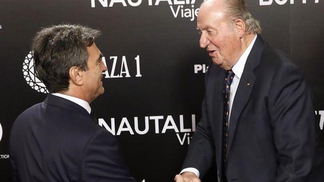 """Juan Carlos I, homenajeado por el mundo del toro: """"Tendréis todo mi apoyo"""""""