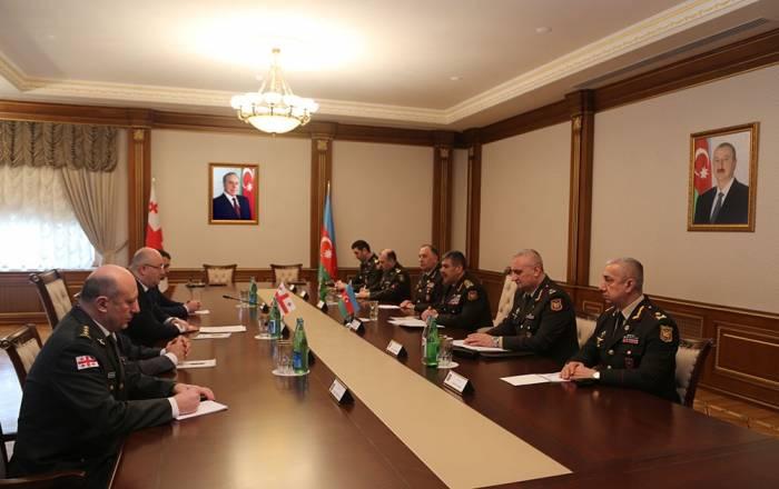 Azerbaijan Georgia sign military cooperation plan for 2018