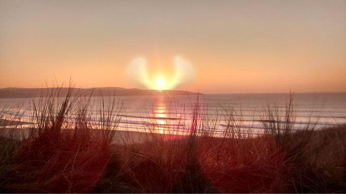 Brennendes Himmelsportal tut sich über Südamerika auf - VIDEO