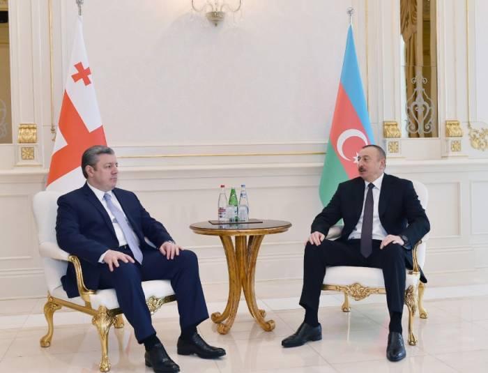 """""""Aserbaidschan ist ein strategischer Partner Georgiens"""" - Premierminister"""