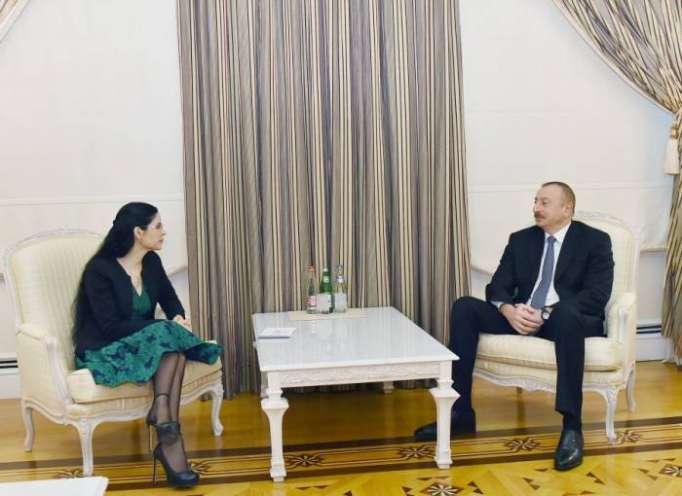 President Ilham Aliyev receives Romanian Deputy PM