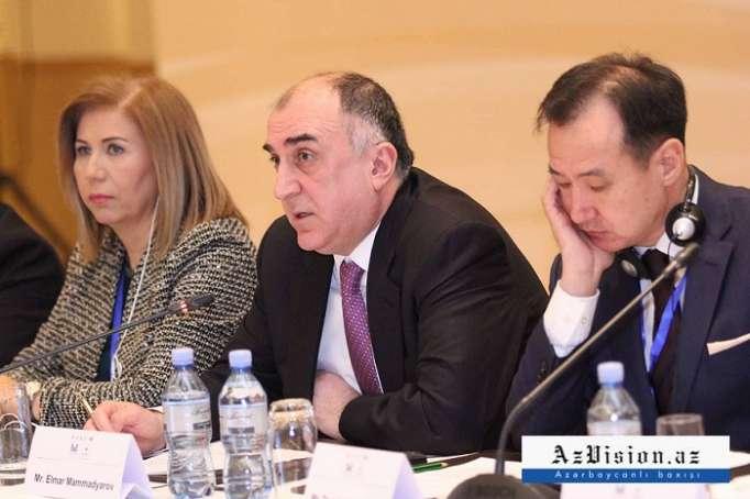 Mammadyarov: Wir würden gerne sehen, wie die EU Aserbaidschan und seinen Handelskorridoren praktische Unterstützung bietet