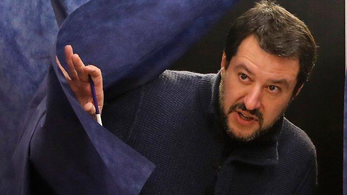 Italiens Rechtspopulisten stellen auf stur
