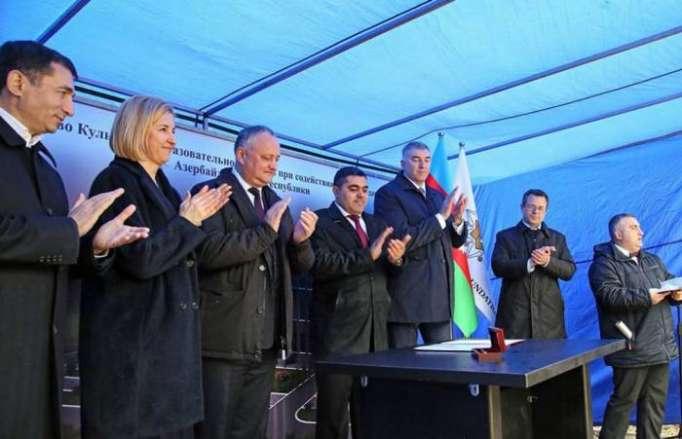 Heydar Aliyev Foundation sponsors building of Cultural Education Center in Moldova