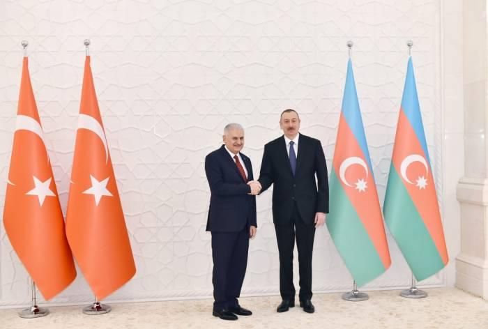 """İlham Əliyev: """"Biz dostuq, qardaşıq, bir-birimizi dəstəkləyirik"""" - (FOTOLAR)"""