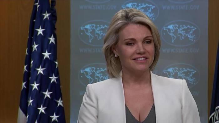 Nauert deja el cargo de vocera de Departamento de Estado de EEUU