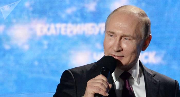 Primer ministro japonés expresa su voluntad de cooperar con Putin en relación con Corea