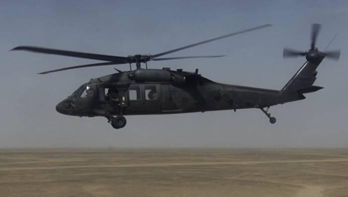 İraqda ABŞ-ın hərbi helikopteri qəzaya uğrayıb
