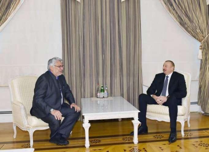 Präsident Aliyev empfängt Vorsitzenden des paraguayischen Senats