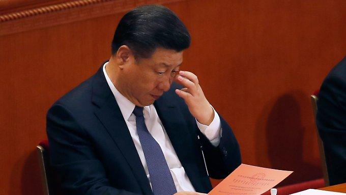 Risiko für Chinas Wirtschaft steigt