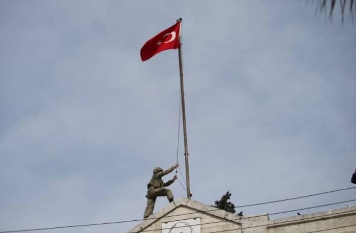 Afrin şəhəri terrorçulardan azad edildi