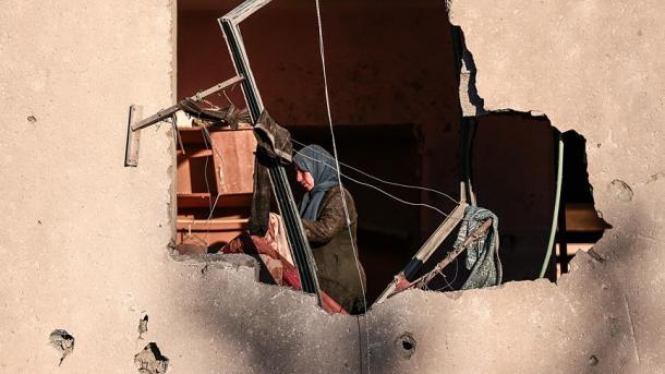 Afrin: Bombe beschädigt Stadtzentrum