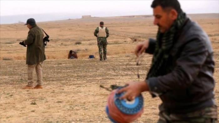 ONU informa de desactivación de 27.000 minas en Mosul