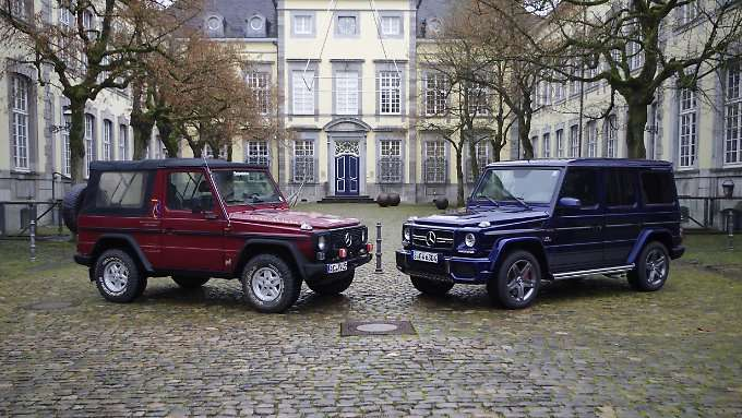 Mercedes 300 GD vs. G 63 AMG