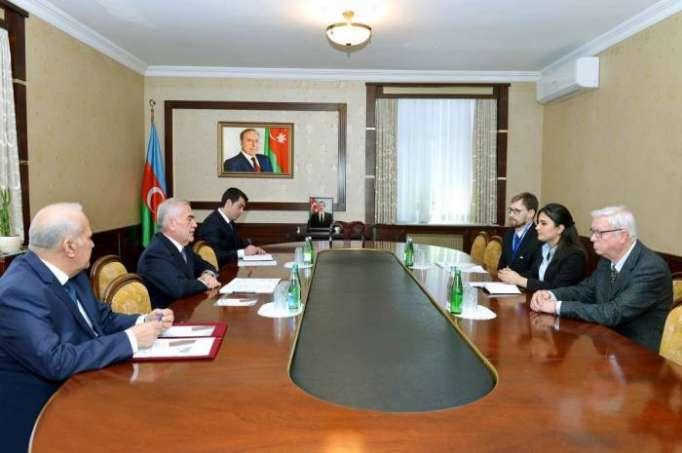 Vasif Talıbov ATƏT müşahidə missiyasının üzvləri ilə görüşüb
