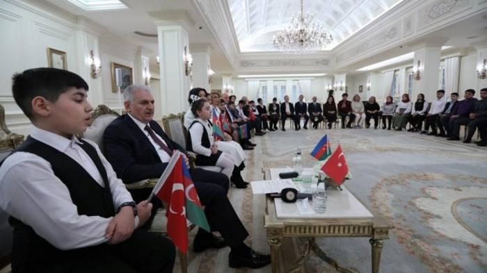 """""""Qarabağ probleminin həlli üçün əlimizdən gələni edəcəyik"""" - Binəli Yıldırım"""
