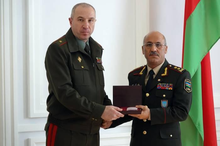 General Şahin Məmmədov Belarusa gedib - FOTO